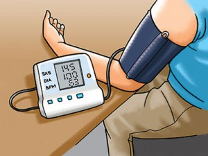 High cholesterol and blood pressure